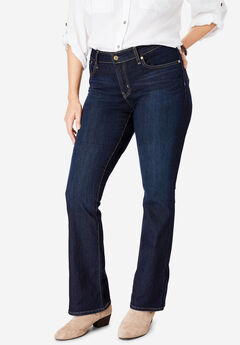 Signature by Levi Strauss & Co.™ Gold Label Womens Plus Mid-Rise Boot Cut Jeans,
