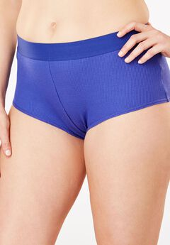 Ribbed Hipster Panty by Comfort Choice®,