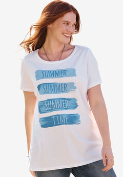 Graphic Tee, SUMMER TIME