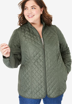 6b8a29fef Plus Size Puffer Coats & Jackets for Women | Full Beauty