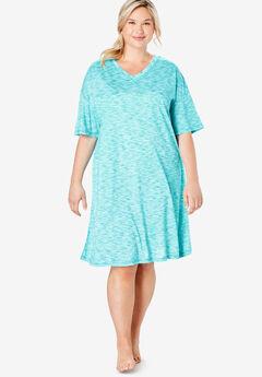 Short Marled Sleepshirt by Dreams & Co.®,