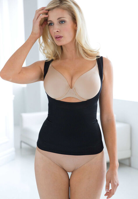 2eabd3d7f4cb7 Wear-Your-Own-Bra Tank by Secret Solutions® Curvewear