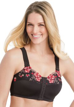 Embroidered Posture Bra by Comfort Choice®,