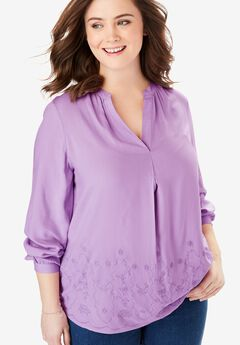 Split Neck Tunic,