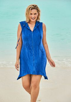 Sleeveless Terry Cover Up by Swim 365,