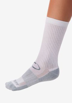 Copper Compression Sport Socks, WHITE