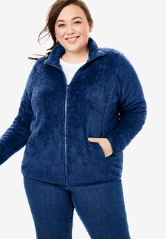 Fluffy Fleece Jacket,