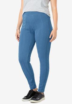 Cable Knit Fleece Legging,