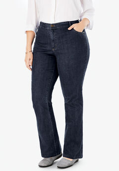32569bac495 Plus Size Bootcut Jeans for Women