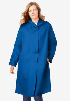 Packable Hooded Raincoat,