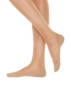 Hanes X-Low Microfiber Foot Cover 2-Pack,