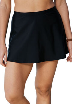 A-Line Swim Skirt with Built-In Brief,