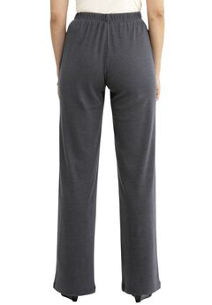 5b0612c3acc 7-Day Knit Wide Leg Pant. Woman Within