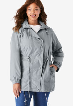 Fleece-Lined Taslon® Anorak,