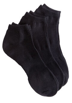 No-Show Socks, BLACK PACK