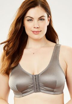 Front-Hook Wireless Leisure Bra by Leading Lady®,