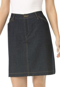 Cotton Jean Skort,