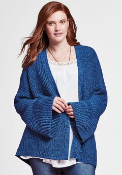 Bell Sleeve Cardigan by Chelsea Studio®,