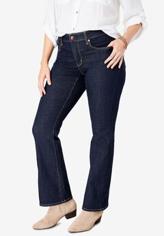 Signature by Levi Strauss & Co.™ Gold Label Women's Plus Totally Shaping Boot Cut Jeans,
