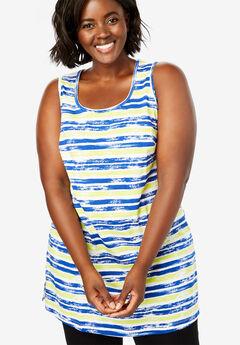 32ad602a079 Longer Length Sleeveless Tunic. Woman Within
