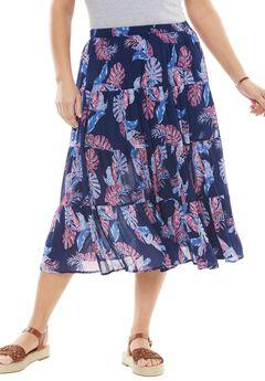 Crinkle skirt,