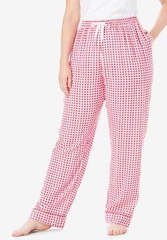 Convertible Cotton PJ Pant by Dreams & Co.®,