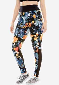 Mesh panel leggings by fullbeauty SPORT®,