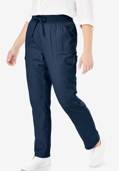 e8a796983a8 Convertible Length Cargo Pant. Woman Within