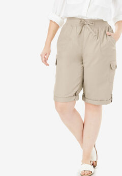 Convertible Length Cargo Short, NATURAL KHAKI