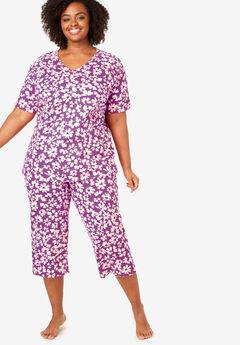 Knit Capri PJ Set by Dreams & Co®,