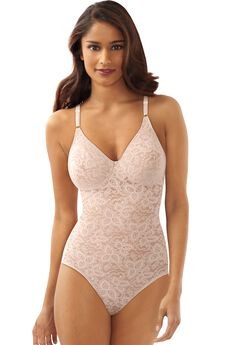 Lace'N Smooth® Body Briefer by Bali,