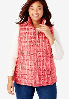 0ffb464aa98 Packable Puffer Vest. Woman Within