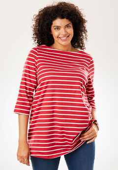 Perfect Boatneck Tee,