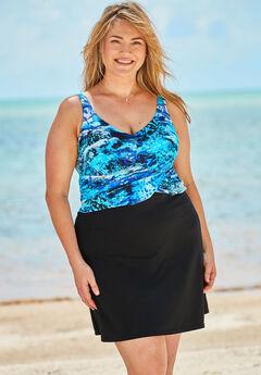 Underwire Swim Dress,