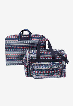 Two Piece Fairisle Travel Set,