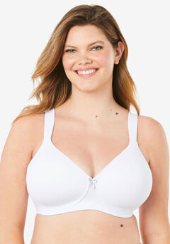 Leading Lady® Brigitte Classic Wirefree Padded T-Shirt Bra 5225,