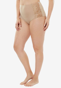 Comfort Choice® Lace-trim Cheeky Boyshort,