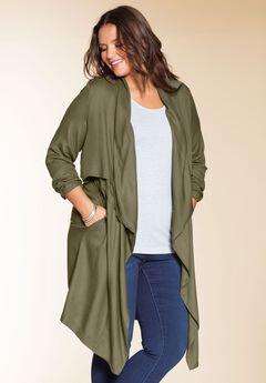 Long trench coat by Chelsea Studio®,