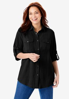 Cotton Gauze Bigshirt,
