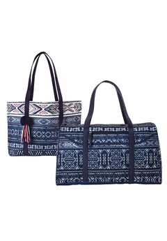 Two-Piece Bandana-Print Travel Set,