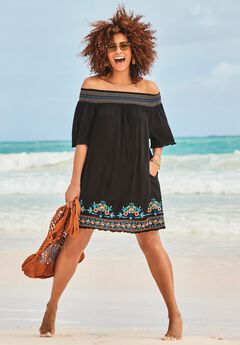 Off-The-Shoulder Cover Up by Swim 365,