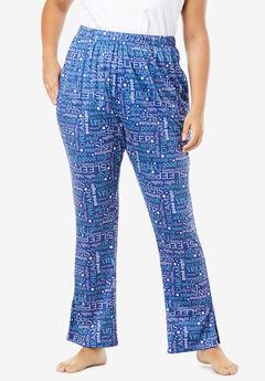 Dreams & Co.® Side Slit Wide Leg Pant,
