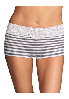 Cotton Dream® Boyshort With Lace by Maidenform®,