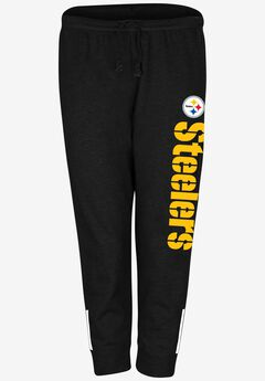NFL® Cotton Jersey Capri, STEELERS