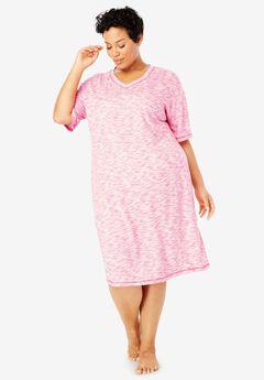 6309618700 Short Marled Sleepshirt by Dreams   Co.®