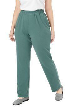 7-Day Knit Straight Leg Pant,