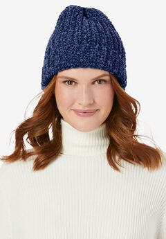 Chenille Winter Hat,