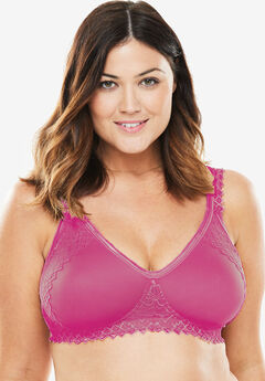 Secret Shaping Bra by Comfort Choice®, BRIGHT BERRY