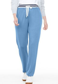 Supersoft Terry Striped Waist Pant,
