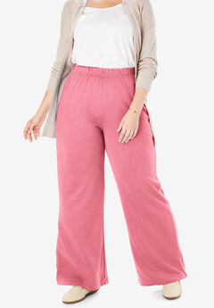 7-Day Knit Wide Leg Pant, ROSE MAUVE